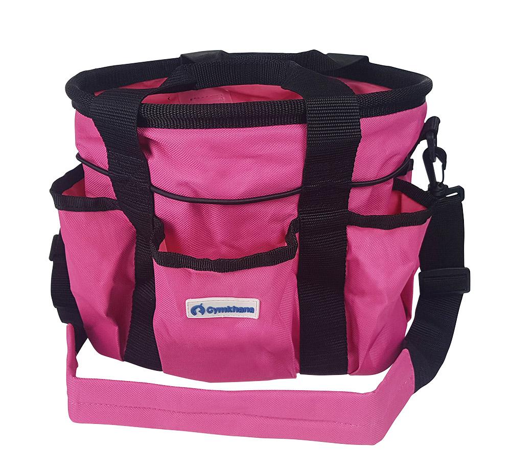 Grooming Tote Bag Pink Black